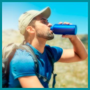 Hidratacion y trekking