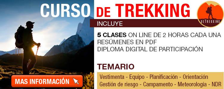 Curso de Trekking en Chile