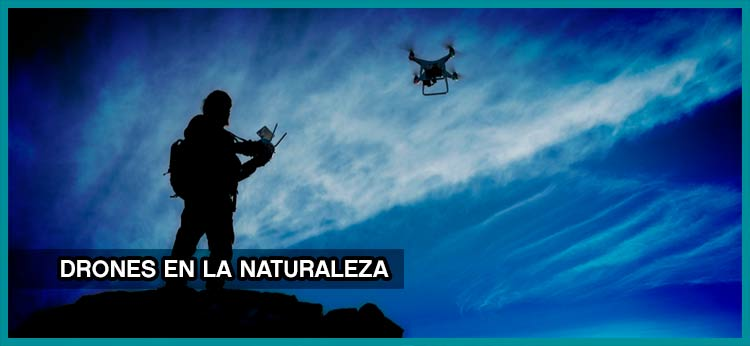 Drones en la naturaleza
